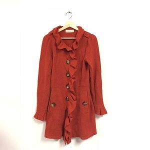 Anthropologie Charlie Robin Jacket Gumshoe Sweater